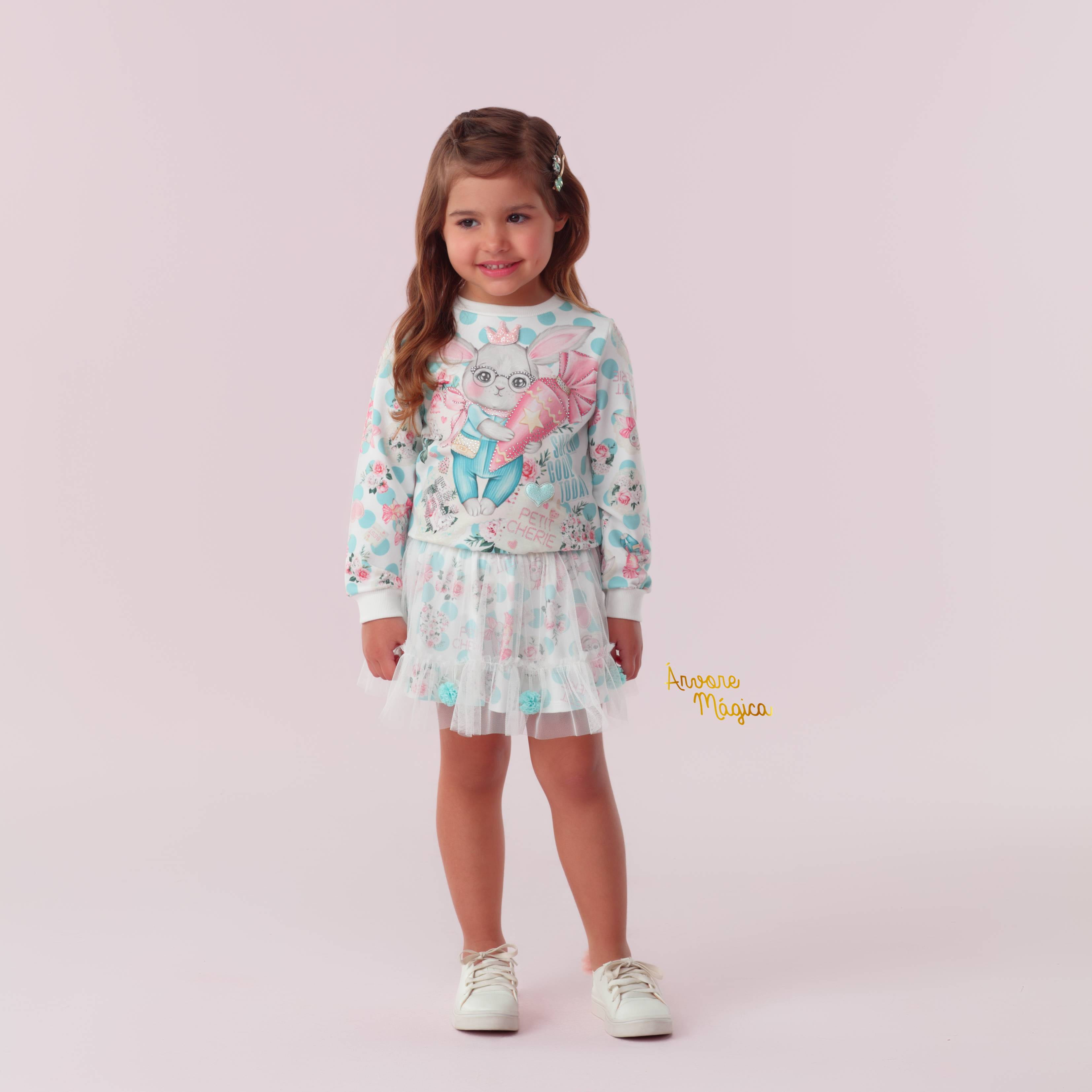 Conjunto Infantil Coelhinho Petit Cherie