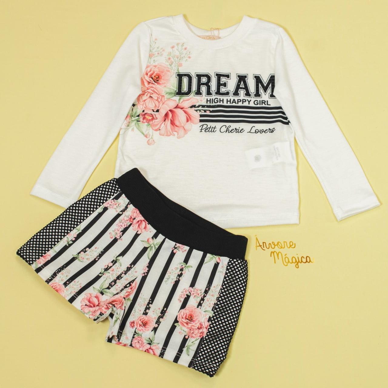 Conjunto Infantil Dream Petit Cherie