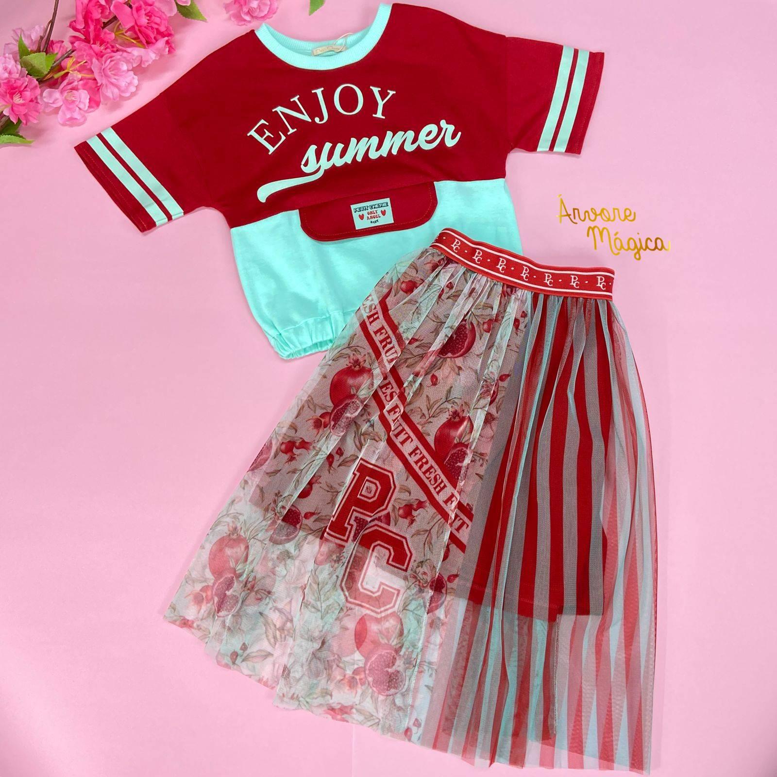 Conjunto Infantil Enjoy Summer Petit Cherie