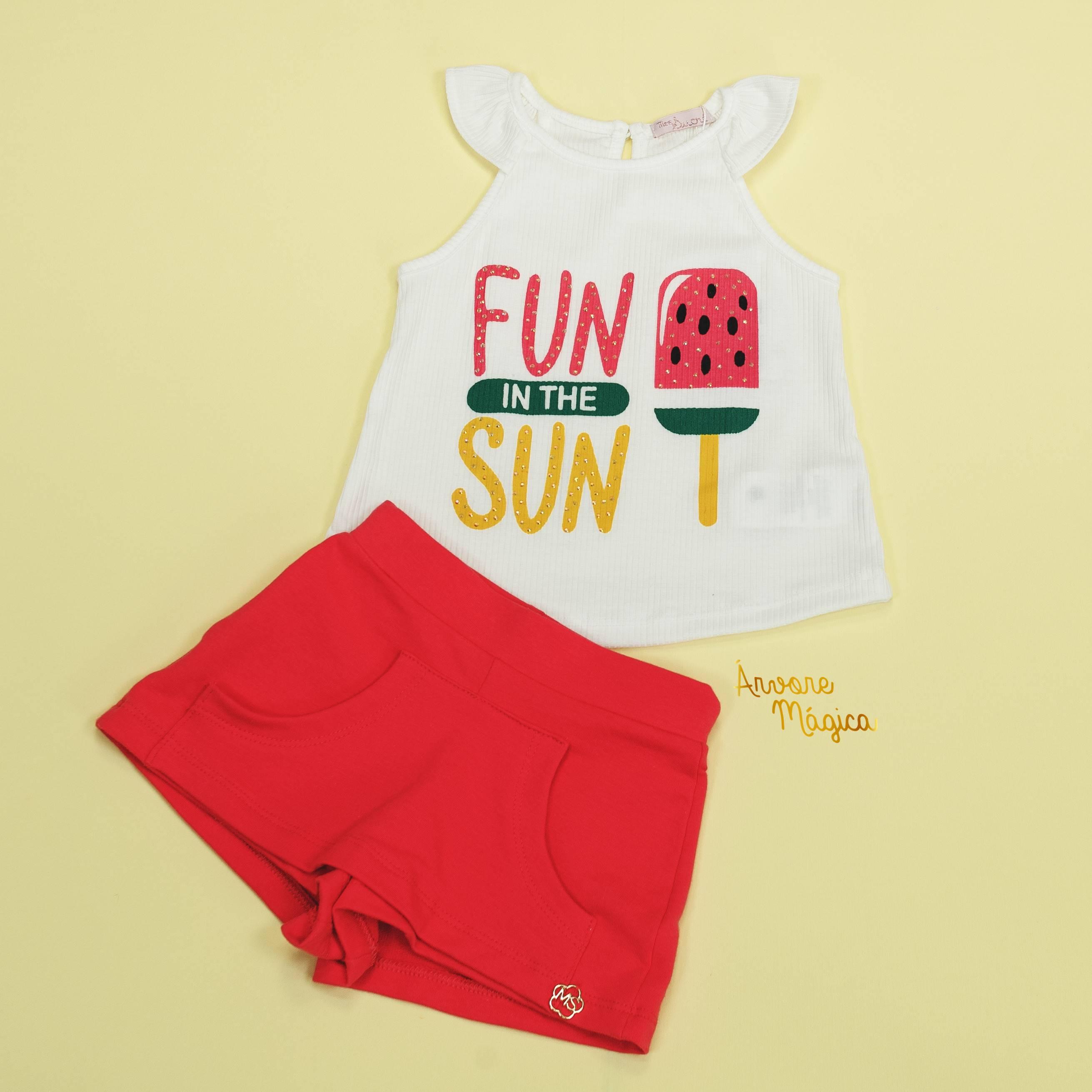 Conjunto Infantil Fun InThe Sun Mon Sucré