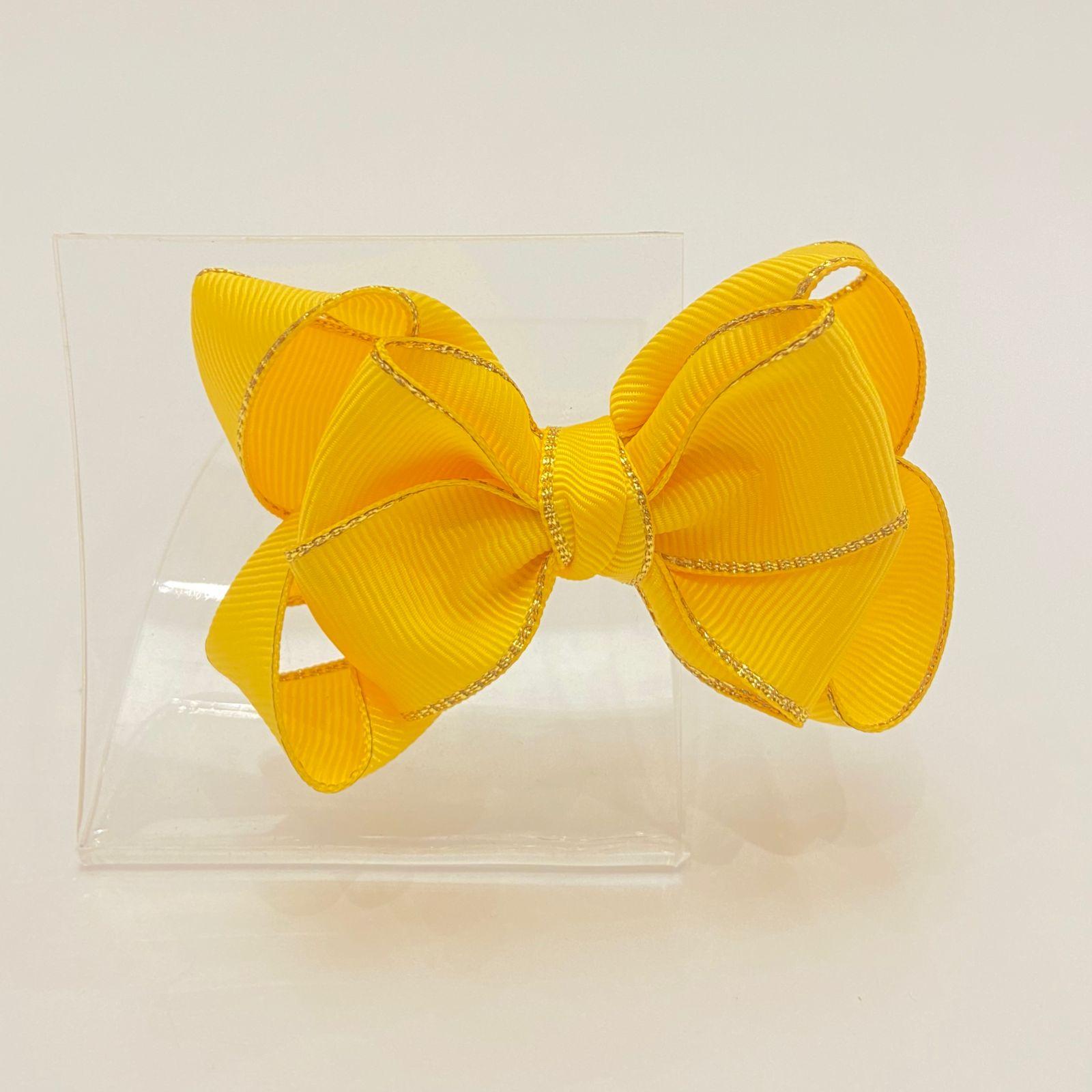Laço Infantil Amarelo