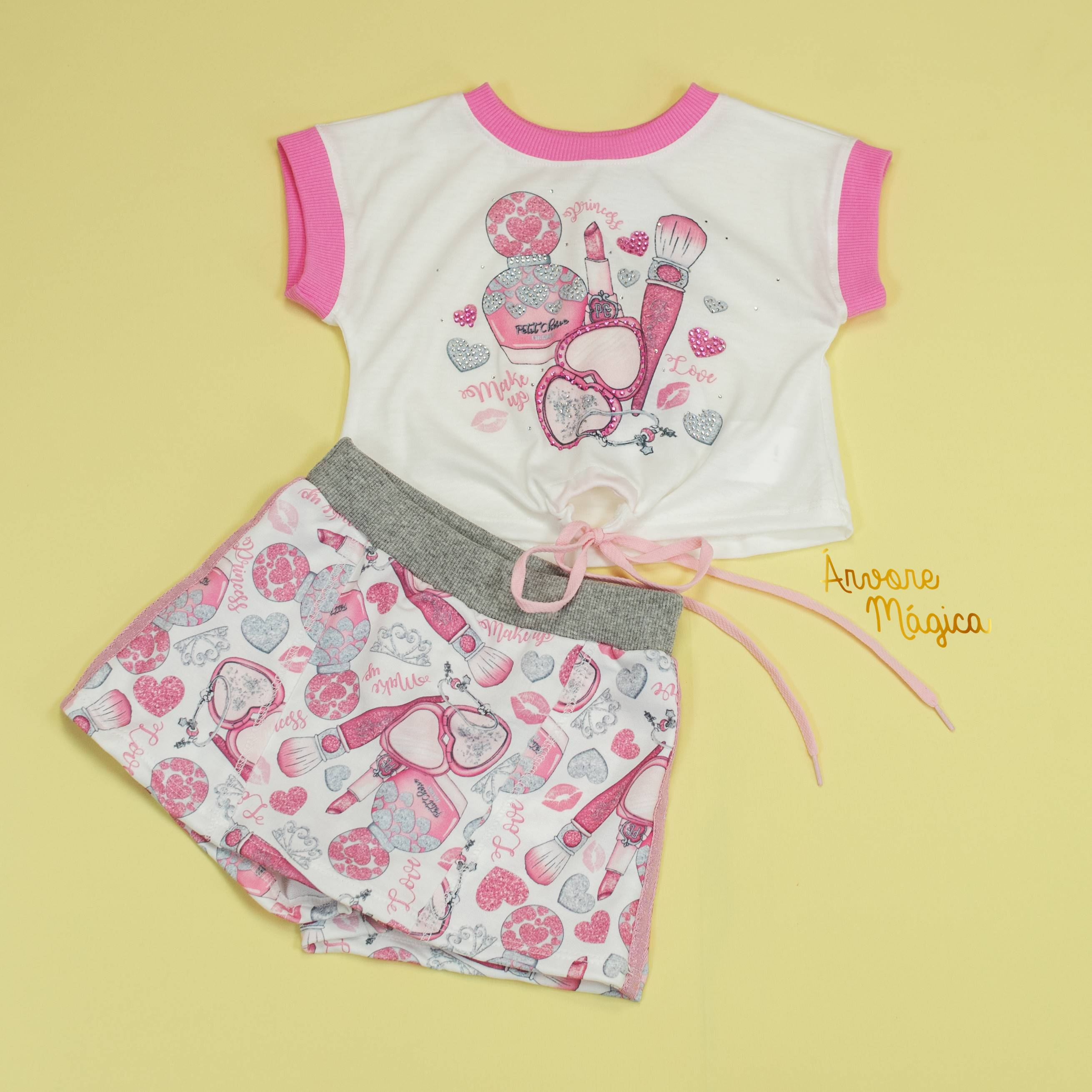Conjunto Infantil Make Up Petit Cherie