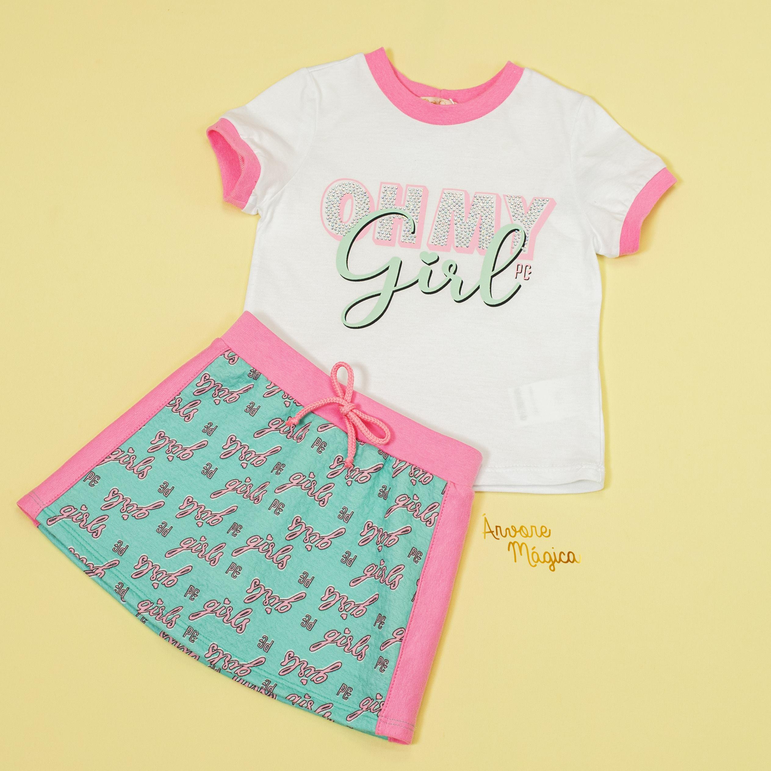 Conjunto Infantil Oh My Girl Petit Cherie