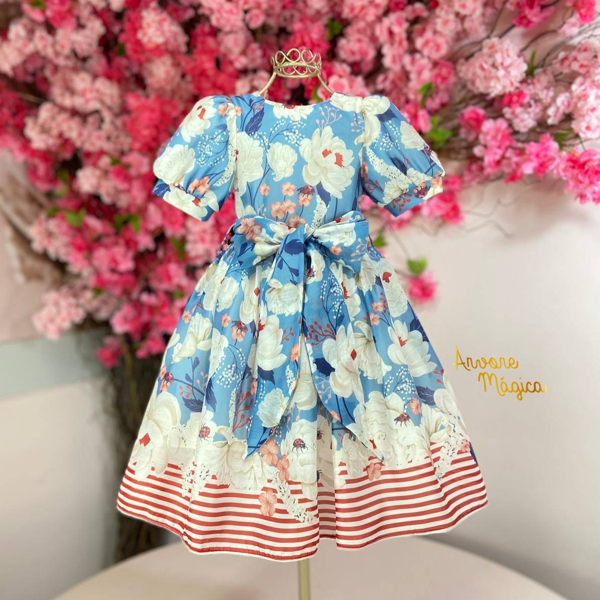 Vestido de Festa Infantil Alicia Petit Cherie
