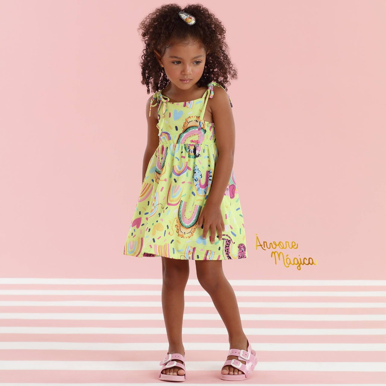 Vestido Infantil Verãozinho Mon Sucré