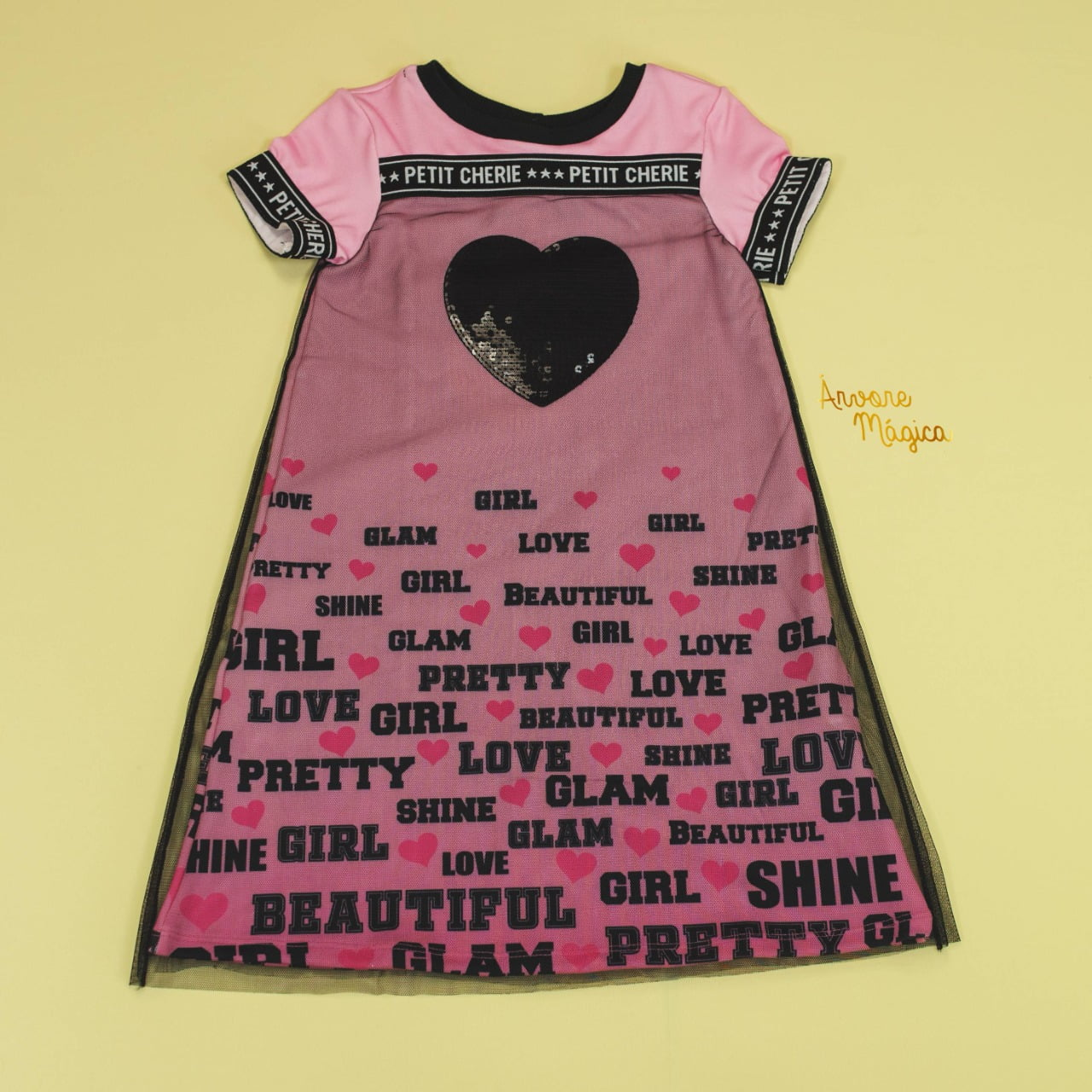 Vestido Infantil Beautiful Girl Petit Cherie