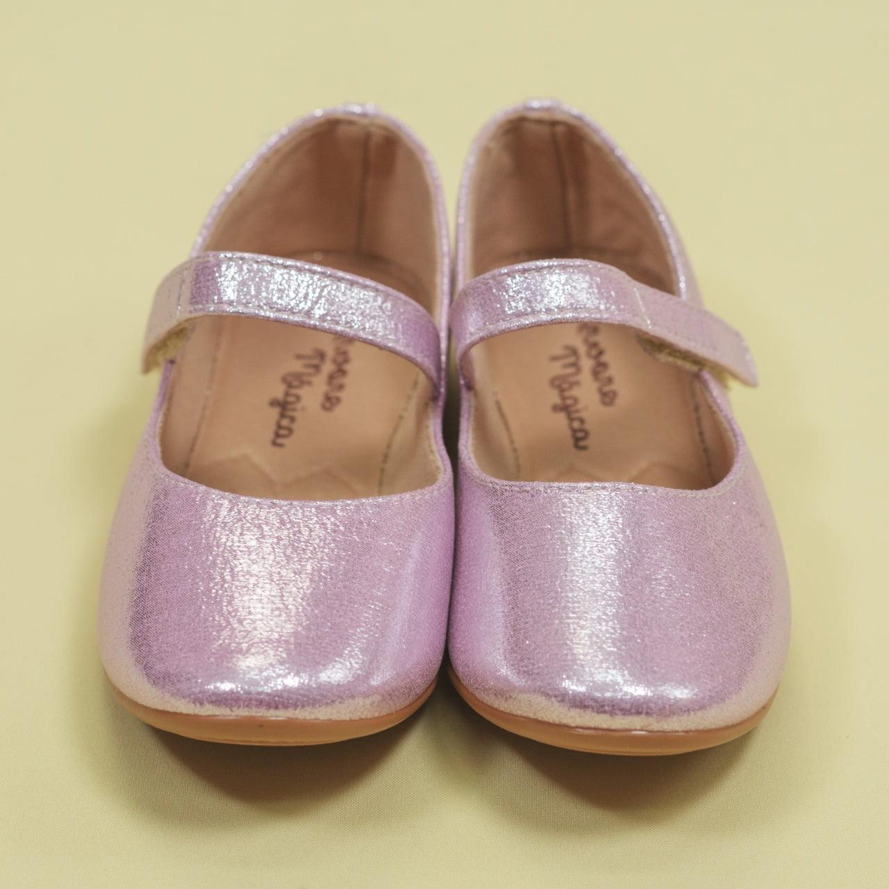 Sapatilha Glitter Rosa