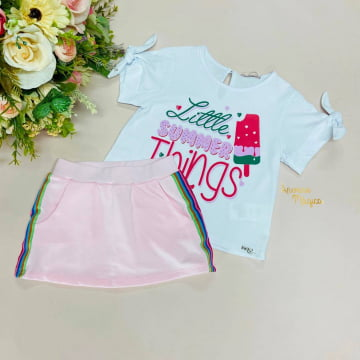 Conjunto Infantil Little Summer Things Mon Sucré