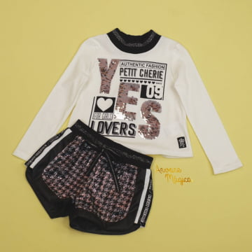 Conjunto Infantil Authentic Fashion Petit Cherie