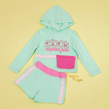 Conjunto Infantil Cool Fashion Girl Petit Cherie