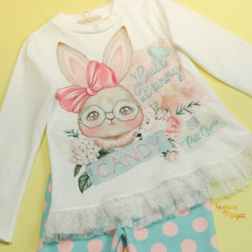 Conjunto Infantil Cute Bunny Petit Cherie