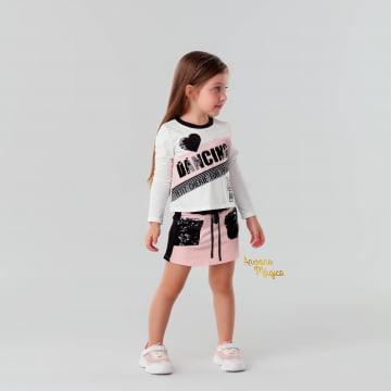 Conjunto Infantil Dancing Petit Cherie
