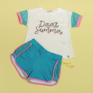 Conjunto Infantil Desert Summer Mon Sucré