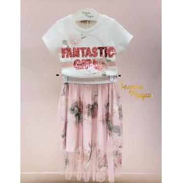 Conjunto Infantil Fantastic Girl Petit Cherie