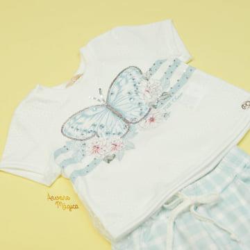 Conjunto Infantil Jogger Butterfly Petit Cherie