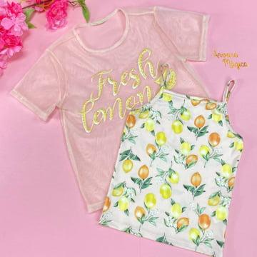 Conjunto Infantil Lemon Fresh Petit Cherie