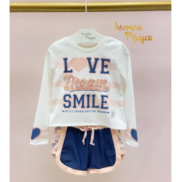 Conjunto Infantil Love Dream Petit Cherie