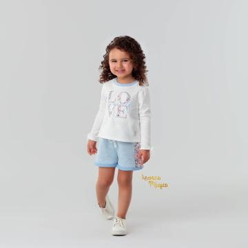 Conjunto Infantil Love Yourself Petit Cherie