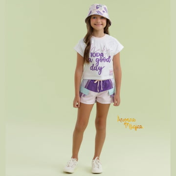 Conjunto Infantil Make Today a Good Day Petit Cherie