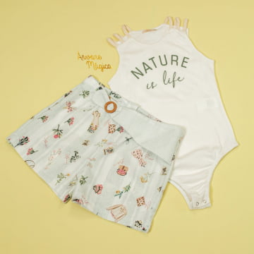 Conjunto Infantil Nature is Life Petit Cherie
