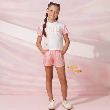 Conjunto Infantil Self Petit Cherie