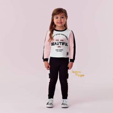 Conjunto Infantil You Are Beautiful Petit Cherie
