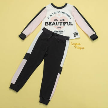 Conjunto Infantil You Are Beautiful Petit Cherie