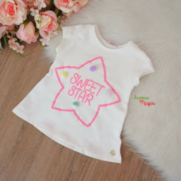 Conjunto Sweet Star Paetê Mágico Mon Sucré