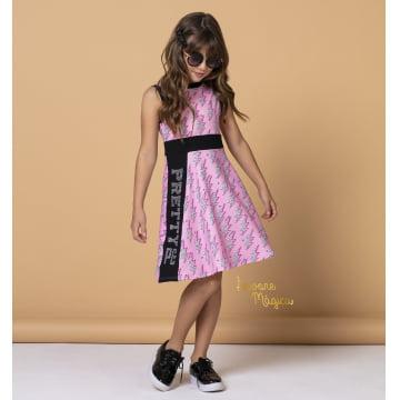 Vestido Infantil Pretty Raios Petit Cherie