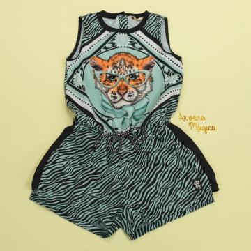 Macaquinho Infantil Tigre Petit Cherie