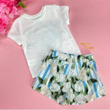 Conjunto Infantil Love Flowers Petit Cherie