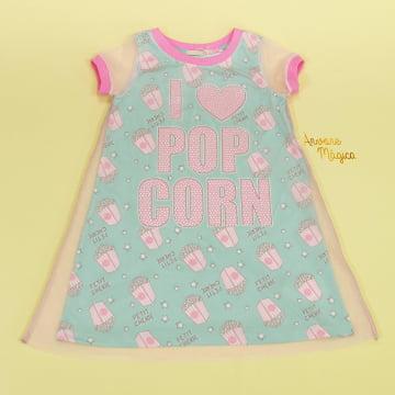Vestido Infantil Popcorn Petit Cherie