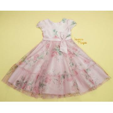 Vestido de Festa Infantil Melinda Petit Cherie