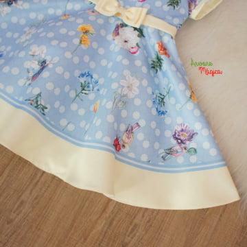 Vestido de Festa Infantil Ana Julia Petit Cherie