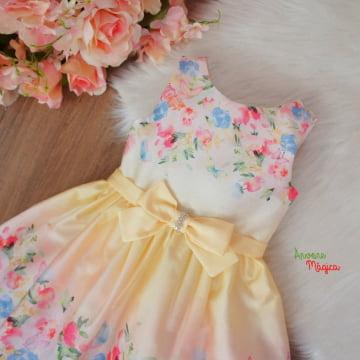 Vestido de Festa Infantil Joana Petit Cherie