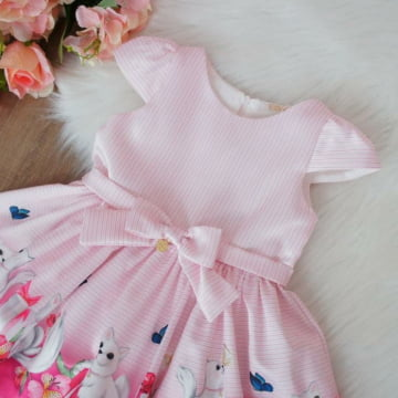 Vestido de Festa Infantil Presentinho Petit Cherie