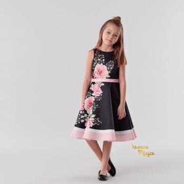 Vestido de Festa Infantil Antonella Kids Petit Cherie