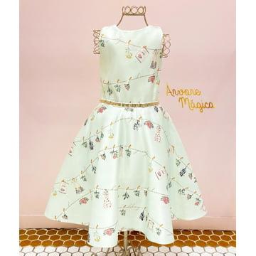 Vestido de Festa Infantil Betina Petit Cherie