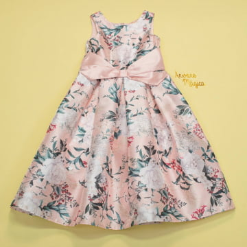 Vestido de Festa Infantil Zoe Kids Petit Cherie