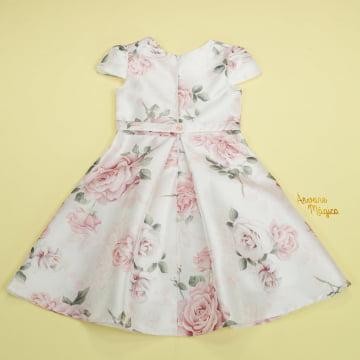 Vestido de Festa Infantil Floral Elegance Petit Cherie