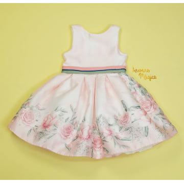 Vestido de Festa Infantil Mia Floral Petit Cherie