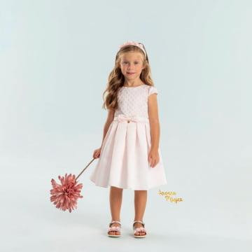 Vestido de Festa Infantil Rosinha Petit Cherie