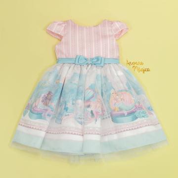 Vestido de Festa Infantil Sereia Petit Cherie
