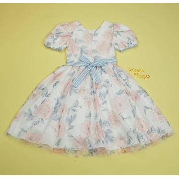 Vestido de Festa Infantil Pandora Fluído Petit Cherie