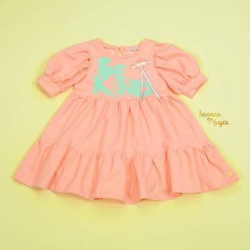 Vestido Infantil Be Kind Mon Sucré
