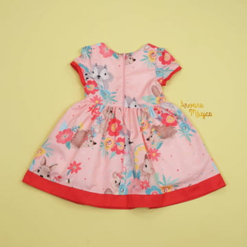 Vestido Infantil Bosque Encantado Mon Sucré