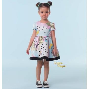 Vestido Infantil Butterfly Mon Sucré