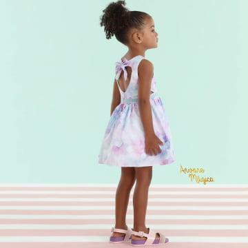 Vestido Infantil Chuva de Amor Mon Sucré