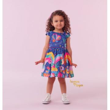 Vestido Infantil Donuts Mon Sucré