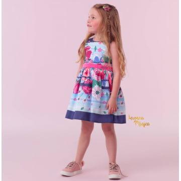 Vestido Infantil Flora Mon Sucré